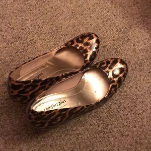 Cute cheetah print heels